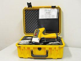 laboratorio analisi chimiche con strumenti vari di fonderia di lonato; analizzatore portatile metallo Niton XL2